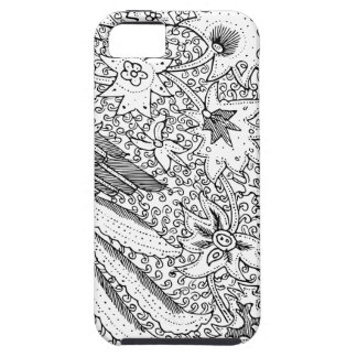 Old Abstract Textile Nature Pattern iPhone 5 Cases