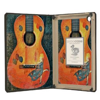 Old Acoustic Guitar iPad Dodocase iPad Mini Retina Cases