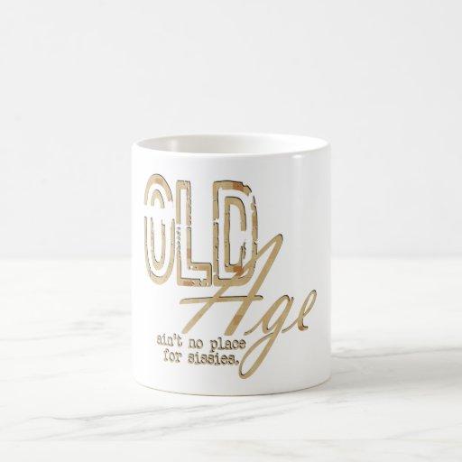 Old Age - Morphing Mug