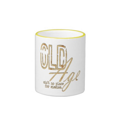 Old Age - Ringer Mug