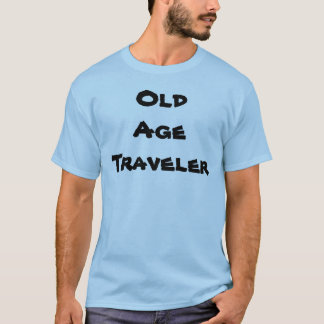 Old Age Traveler Mens T-Shirt