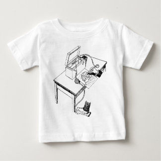 Old Airbrush Baby T-Shirt