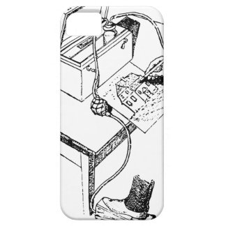 Old Airbrush Case For The iPhone 5