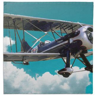 Old Airplane Napkin