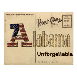 Old Alabama Postcard