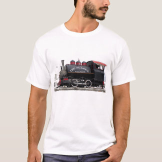 Old Alaska Railroad steam engine, Anchorage, AK T-Shirt