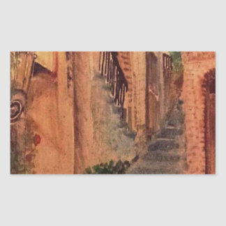 Old Alley Sticker