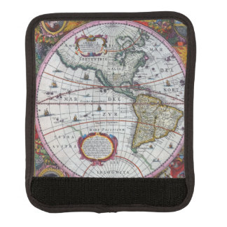 Old America Maps Luggage Handle Wrap