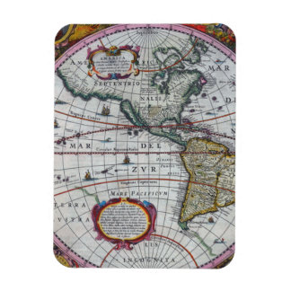 Old America Maps Magnet