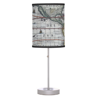 Old America Maps Table Lamp