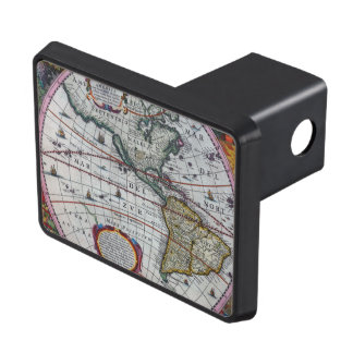 Old America Maps Trailer Hitch Cover