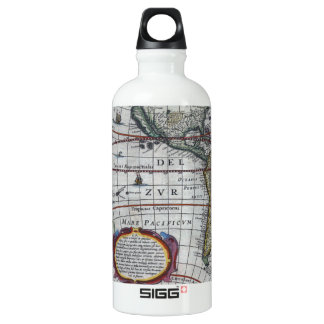 Old America Maps Water Bottle