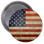 Old American Flag Button