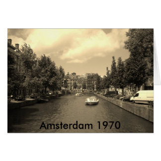 Old Amsterdam Photocard Card