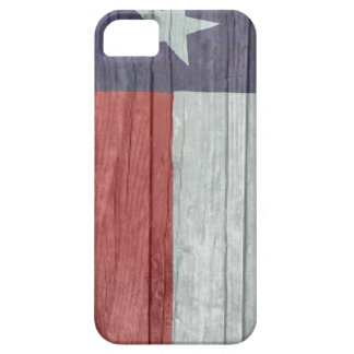 Old antique faded wood Texas Flag iPhone 5 Covers