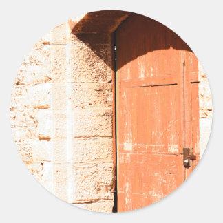 Old Arch Door sticker
