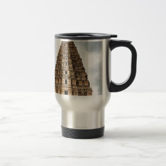 old asian castle travel mug
