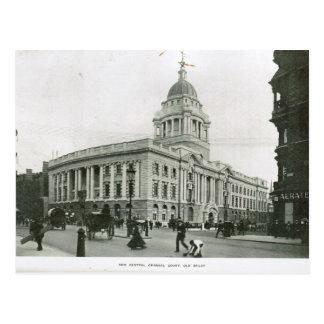 Old Bailey 1900 Postcard