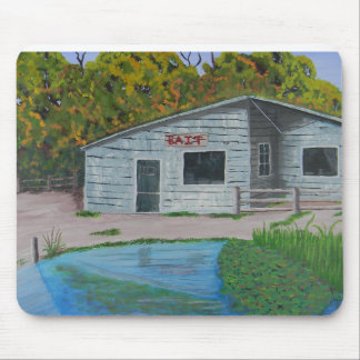 Old Bait shack Mouse Pad