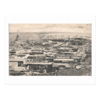 Old Baku (1911) - View with Russian Cathedral Postcard