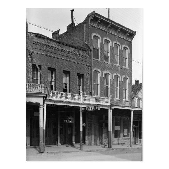Old Bar, Virginia City, Storey, NV Postcard