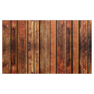 Old Barn Board look Rustic Man Cave Fabric