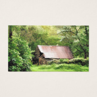 OLD BARN BUSINESS CARD