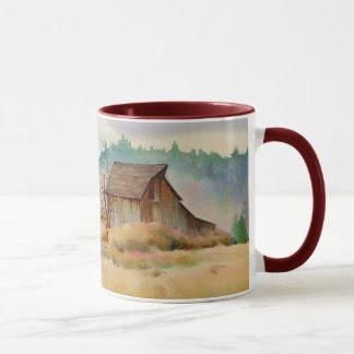OLD BARN by SHARON SHARPE Mug