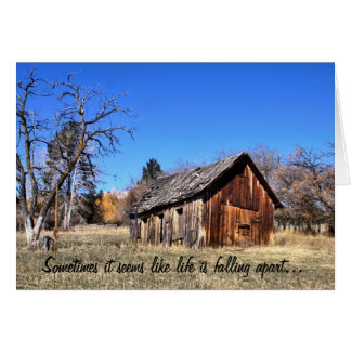 Old Barn Encouragement Card