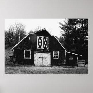Old Barn in Western North Carolina Poster