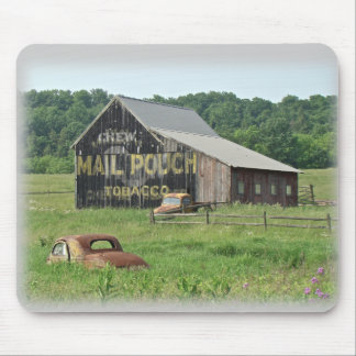 Old Barn Mail Pouch Tobacco Advertising Mouse Pad