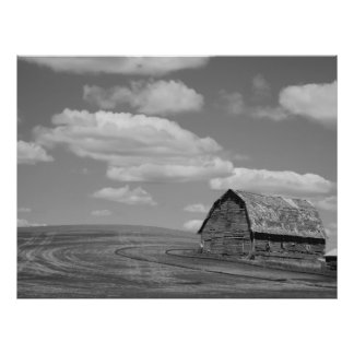 Old Barn on the Palouse Poster