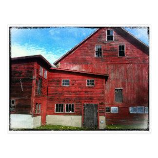'Old Barn' Postcard