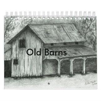 Old Barn sketches calendar