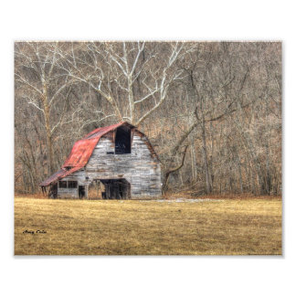Old Barn Splendor Photo Print