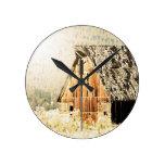 Old Barn Wall Clock