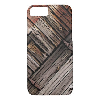 Old Barn Wood Abstract iPhone 7 Case