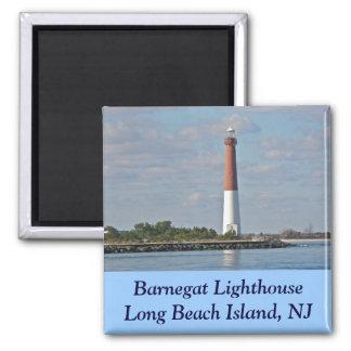 """Old Barney"" Barnegat Lighthouse LBI NJ Magnet"
