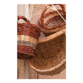 old basket stationery