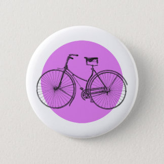 Old Bicycle 2 Inch Round Button