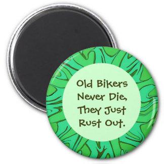 old biker humor magnet