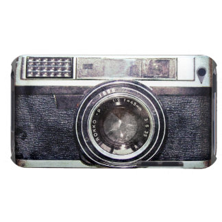 Old black camera iPod touch cases