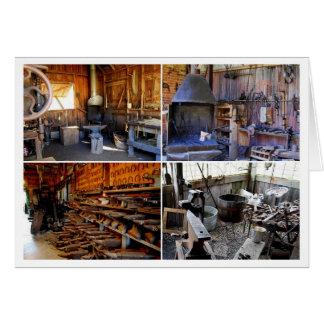 Old Blacksmith Shops Card