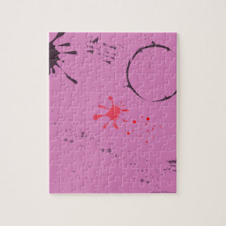 Old Blotting Paper Jigsaw Puzzle
