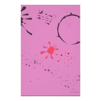 Old Blotting Paper Personalized Stationery