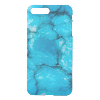 Old blue marble look iPhone 7 plus case