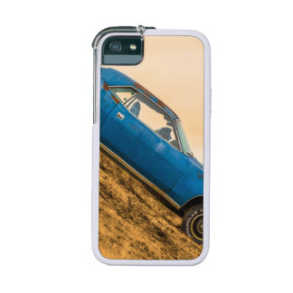 Old Blue Plymouth Barracuda Case For iPhone 5