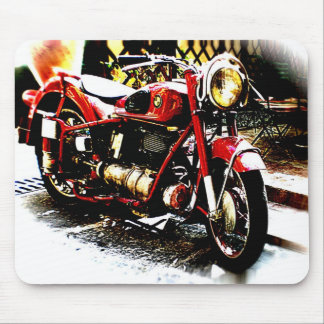Old bmw moterbike mouse pad