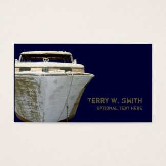 Old Boat Business Card