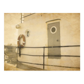 Old Boat Postcard